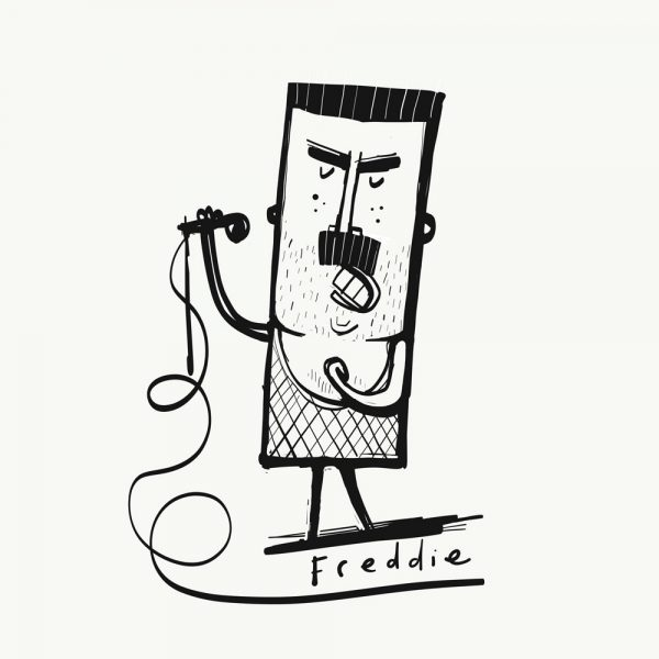 Freddie print by Tom McLaughlin.